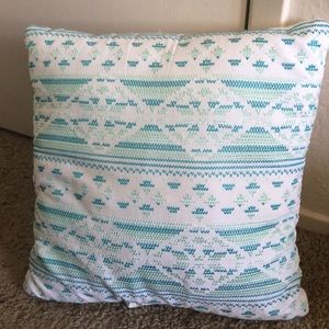 Charming Sea Colored decorative plush pillow